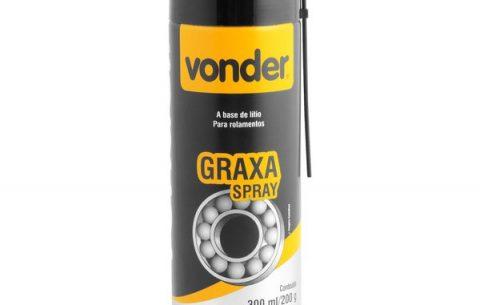 Graxa em Spray